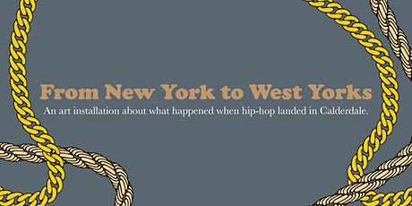 'From New York To West Yorks' EVENING LAUNCH EVENT tickets