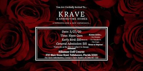 KRAVE: A Springtime Soirée tickets