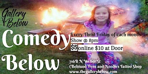 Comedy Show Below