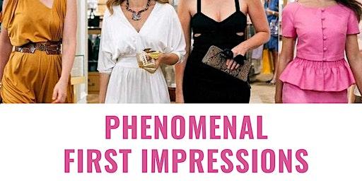 Phenomenal First Impressions