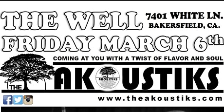 The Akoustiks Live at The Well tickets
