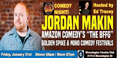 LOL! Comedy Night with Jordan Makin hosted by Ed Tracey  tickets