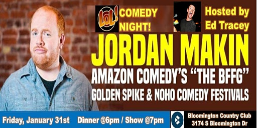 LOL! Comedy Night with Jordan Makin hosted by Ed Tracey