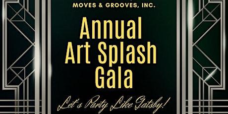 Moves & Grooves Art Splash Gala tickets