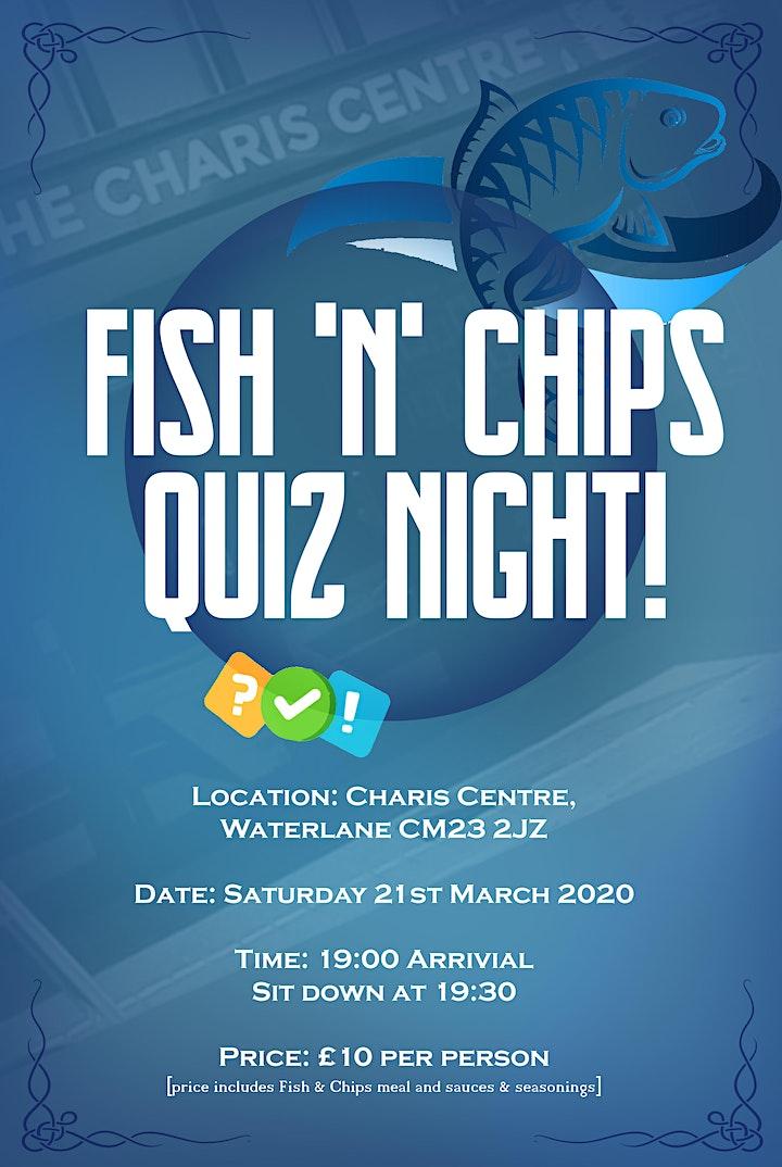 Fish & Chips Quiz Night! image