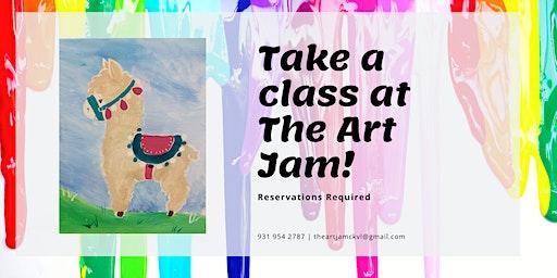Llama/Alpaca Canvas Class