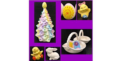 "Paint & Go ""Spring Ceramics"" (6yrs+)"
