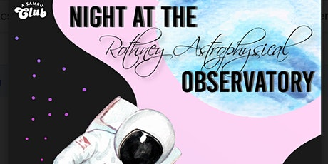 Night at The Rothney Astrophysical Observatory  tickets