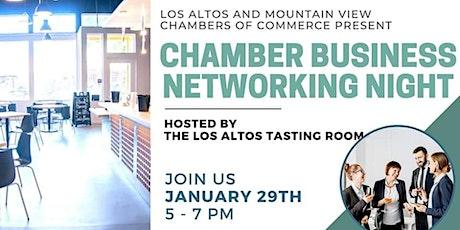 Networking Night At The Los Altos Tasting Room tickets