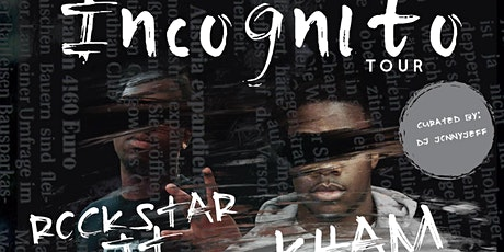 The Incognito Tour feat. Rockstar Jt, Kham, CZAR Josh, and MvkeyyJ tickets