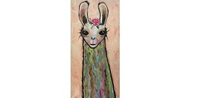 Boho Llama |Adult Paint N' Sip| $20-$25