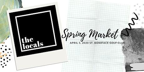 The Locals Spring Market tickets