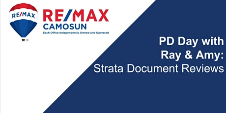 Professional Development - Strata Document Review w/ Ryan Stenquist @ Condo Clear tickets