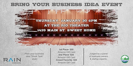 Bring Your Business Idea! tickets