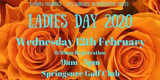 Kyarra Holdings Ladies Day 2020