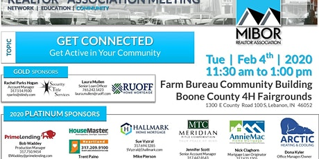 February's Boone County Division of MIBOR REALTOR Association tickets