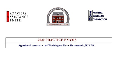 Tax Court Practice Exam I - June 6, 2020 tickets