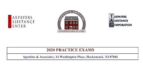 Tax Court Practice Exam IV - September 26, 2020 tickets