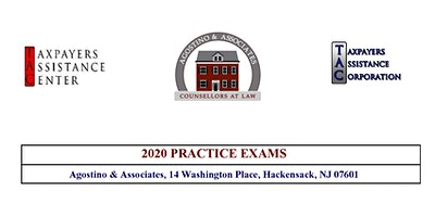 [POSTPONED] Tax Court Practice Exam V - October 17