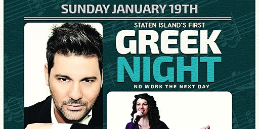 STATEN ISLAND'S FIRST GREEK NIGHT AT JUICY LUCY! CHRISTOS PERRAS & MORE!