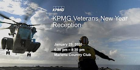 KPMG Veterans New Year Reception tickets