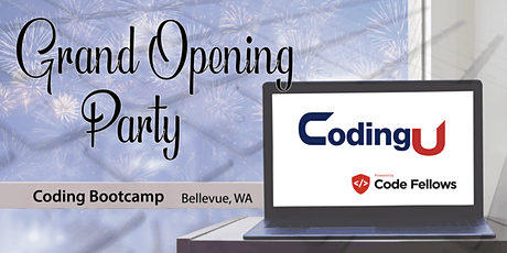 CodingU powered by Code Fellows Launch Party tickets