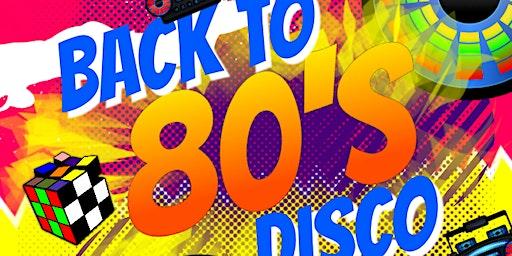 80's Disco Fundraiser