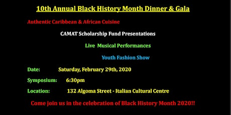 Black History Month Gala 2020 tickets