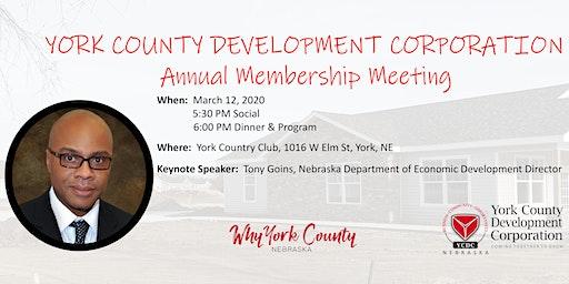 YCDC Annual Membership Meeting