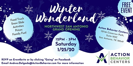 Action Behavior Centers- NW San Antonio Winter Wonderland Open House tickets