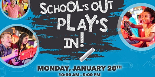 MLK Day Schools Out - Plays In Arcade Event at FatCats Gilbert