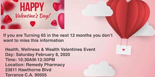 Health, Wellness & Wealth Valentine's Event
