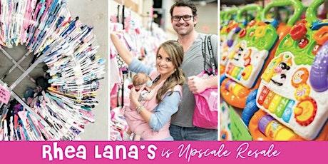 Rhea Lana's Amazing Children's Consignment Event in Northwest Arkansas! tickets