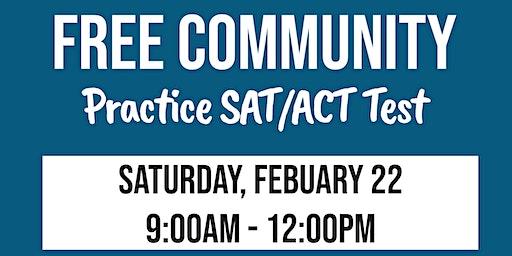 Free Community SAT/ACT Practice Test