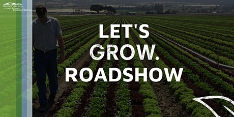 Let's Grow Roadshow - Modesto - Food Safety tickets