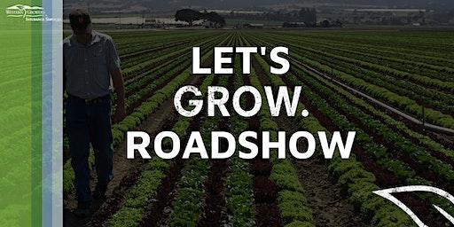 Let's Grow Roadshow - Modesto - Food Safety