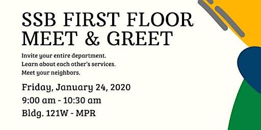 SSB First Floor Meet & Greet