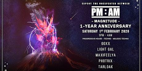 PM:AM - 1-Year Anniversary - MAGNITUDE tickets