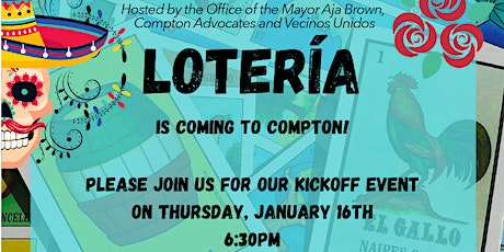 Compton Community Loteria Night tickets
