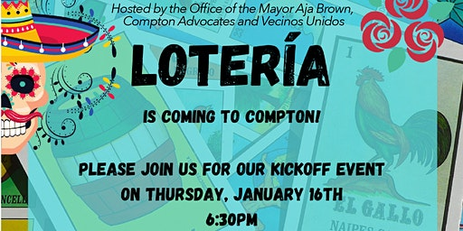 Compton Community Loteria Night