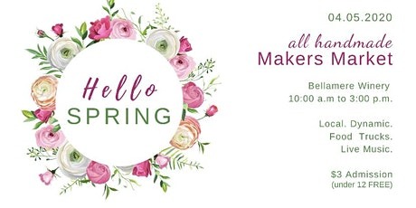 Hello Spring - Makers Market tickets