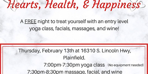 Hearts, Health, & Happiness (FREE EVENT)