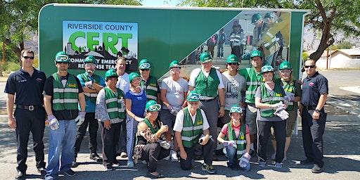 Community Emergency Response Team (CERT) Training - March 27, 28, 29, 2020