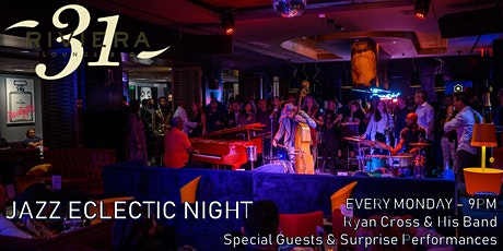 Jazz Eclectic Night at Riviera 31 tickets
