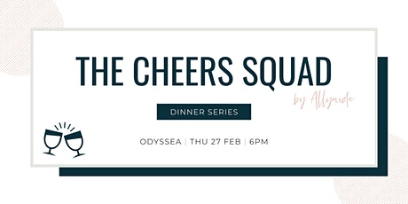 The Cheers Squad - Dinner Series - February 2020 tickets