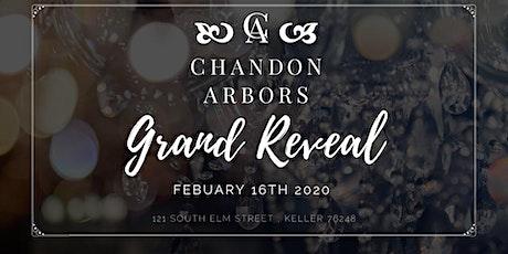 Chandon Arbors Venue Reveal tickets