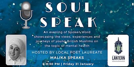 Soul Speak tickets