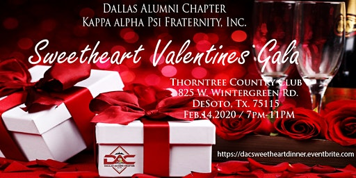 Sweetheart Valentines Gala - Dallas Alumni Chapter