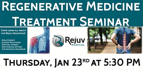 Get Your Life Back Without Drugs Or Surgery: The Rejuv Advantage tickets