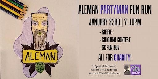 Aleman Partyman Fun Run with Universal Sole Run Club